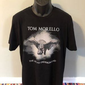 Tom Morello Shirt Atlas Underground Band Concert